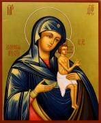 Рукописная икона Долинская Божия Матерь