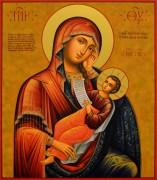 Рукописная икона Утоли Моя Печали 6