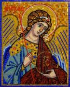 Икона Архангел Михаил из мозаики