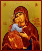 Рукописная икона Умиление (Псково-Печерская)