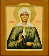 Рукописная икона Матрона Московская 10 (Размер 27*31 см)
