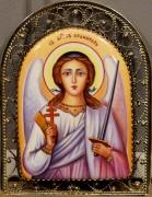 Икона из финифти Ангел-Хранитель 3 (Размер 8*11 см)