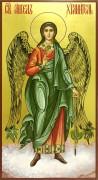 Рукописная икона Ангел Хранитель 60 (Размер 13*25 см)