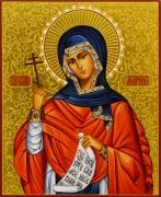 Рукописная икона Марина Антиохийская 2